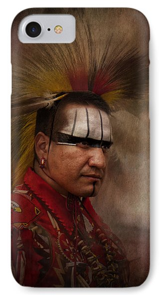 Canadian Aboriginal Man IPhone Case