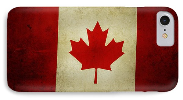 Canadian Flag  IPhone Case by Les Cunliffe