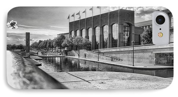 IPhone Case featuring the photograph Canal Walk by Howard Salmon