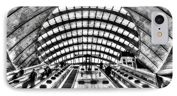 Canary Wharf Station IPhone Case by David Pyatt