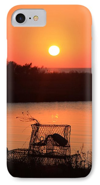 IPhone Case featuring the photograph Cape Hatteras Sunset North Carolina by Mountains to the Sea Photo