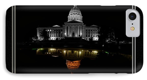 Capitol Reflection IPhone Case by Charles Feagans