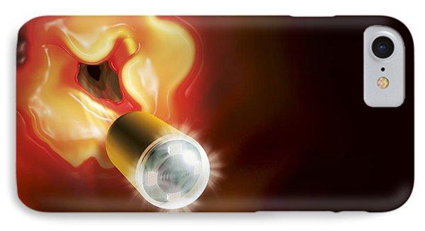 Capsule Endoscopes, Conceptual Image IPhone Case by Claus Lunau