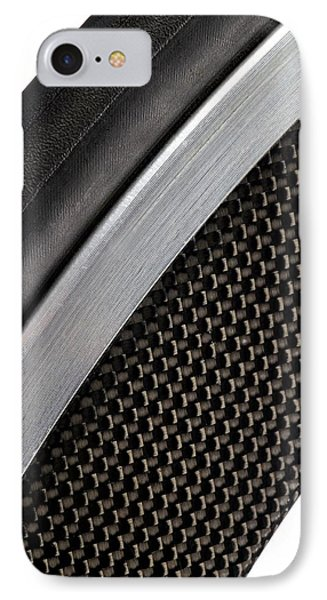 Carbon Fibre Bicycle Wheel IPhone Case by Science Photo Library
