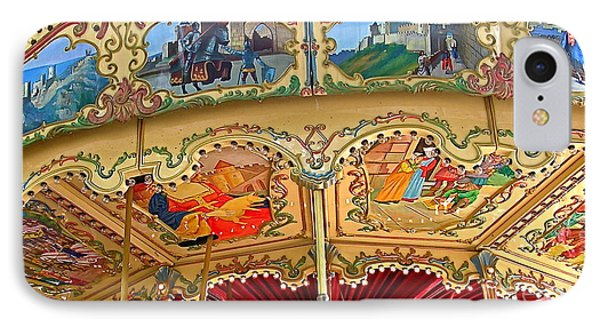 Carcassonne Carousel IPhone Case by France  Art