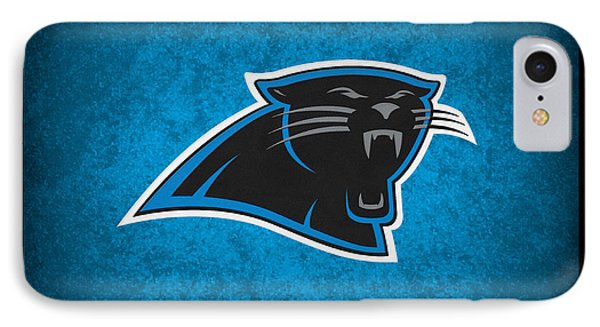 Carolina Panthers Phone Case by Joe Hamilton