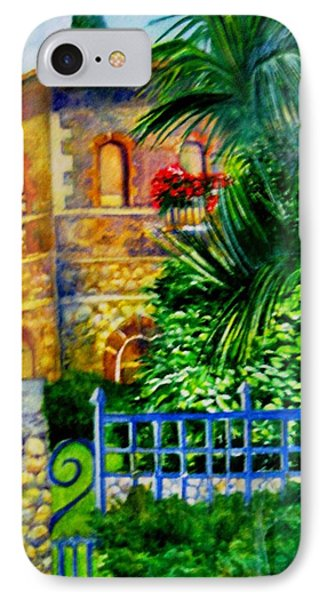 'casa At Radda' IPhone Case