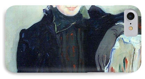 Cassatt's Portrait Of An Elderly Lady IPhone Case by Cora Wandel