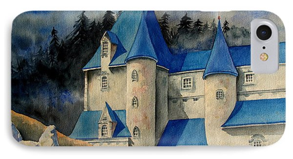 Castle In The Black Forest IPhone Case