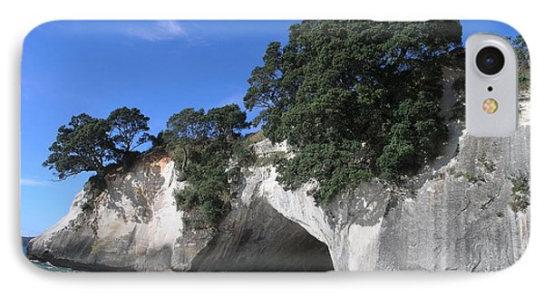 IPhone Case featuring the photograph Cathedral Cove by Christian Zesewitz