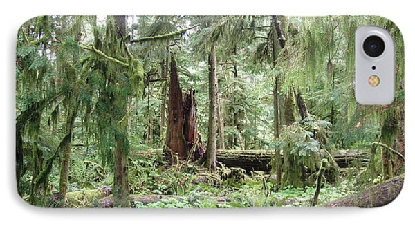 IPhone Case featuring the photograph Cathedral Grove by Marilyn Wilson