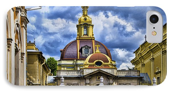 Cathedral Of Saints Peter And Paul - St. Petersburg Russia IPhone Case by Jon Berghoff