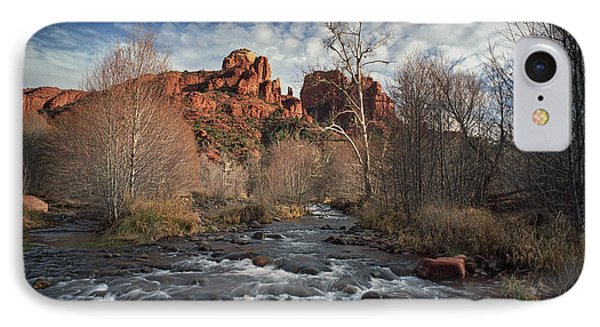Cathedral Rock In Sedona Arizona IPhone Case by Randall Nyhof