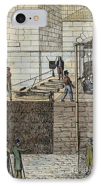 Cato Street Conspiracy Executions IPhone Case by Middle Temple Library