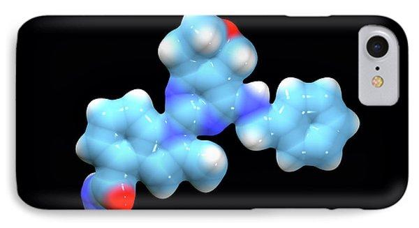 Cb-5083 Experimental Drug Molecule IPhone Case by Dr Tim Evans