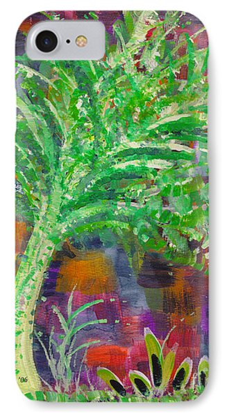 IPhone Case featuring the painting Celery Tree by Holly Carmichael