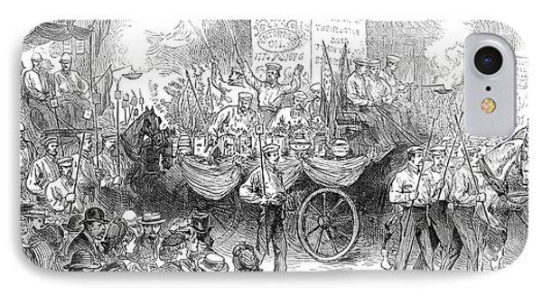 Centennial Parade, 1876 IPhone Case by Granger