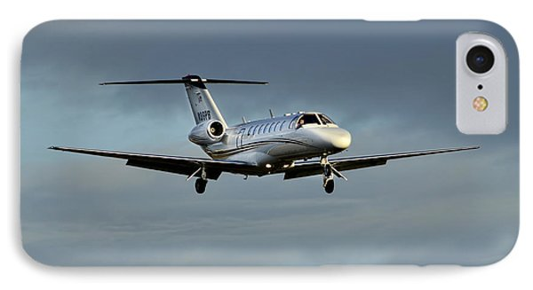 Cessna Citation 525b IPhone Case by James David Phenicie