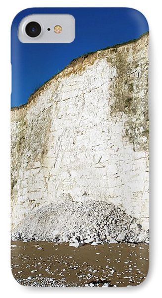 Chalk Cliffs IPhone Case by Carlos Dominguez