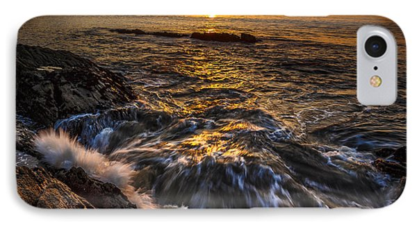 Chamoso Point In Ares Estuary Galicia Spain IPhone Case by Pablo Avanzini