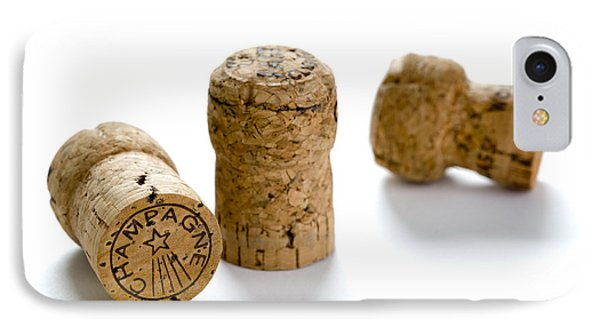 IPhone Case featuring the photograph Champagne Corks by Lee Avison