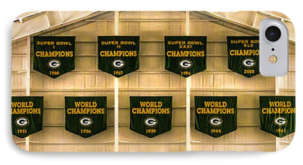 Championship Banners IPhone Case by James  Meyer
