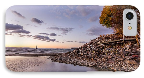 Champlain Twilight IPhone Case by Jeremy Farnsworth