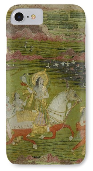 Chand Bibi Hawking IPhone Case by Celestial Images