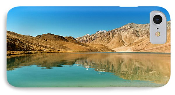 Chandratal Lake IPhone Case by Yew Kwang
