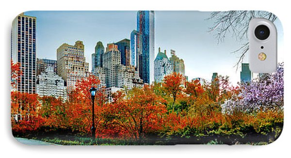 Changing Of The Seasons IPhone Case by Az Jackson