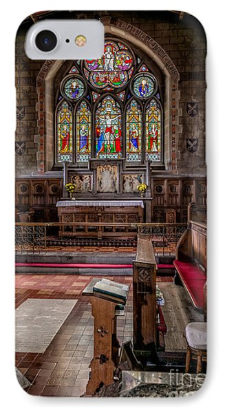 Chapel Window IPhone Case by Adrian Evans