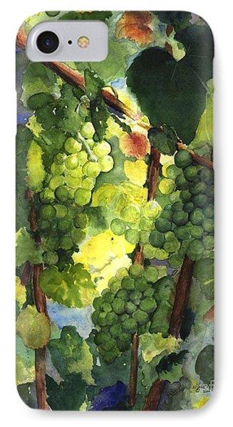 Chardonnay Au Soliel IPhone Case by Maria Hunt
