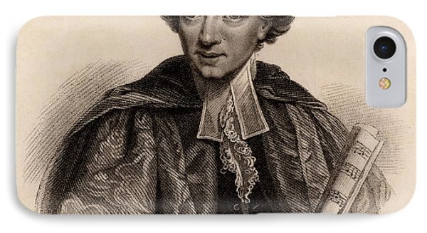 Charles Burney IPhone Case by Universal History Archive/uig