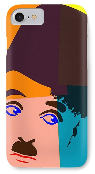 Charles Chaplin Charlot IPhone Case
