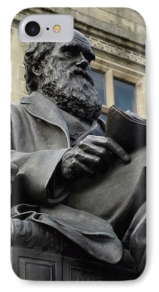 Charles Darwin IPhone Case by Cordelia Molloy