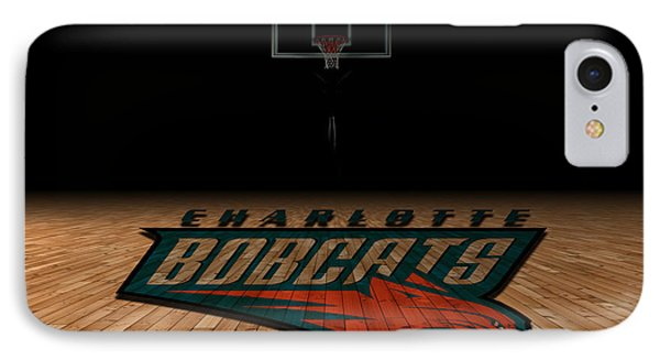 Charlotte Bobcats IPhone Case by Joe Hamilton
