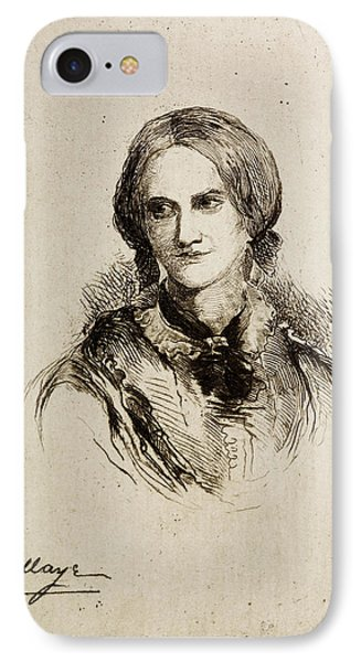 Charlotte Bronte IPhone Case by British Library