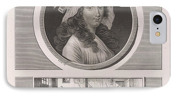 Charlotte Corday IPhone Case by British Library