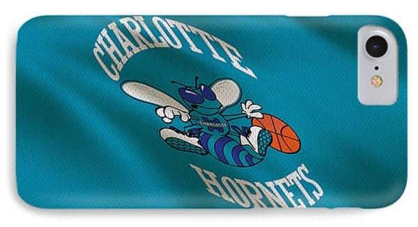 Charlotte Hornets Uniform IPhone Case by Joe Hamilton