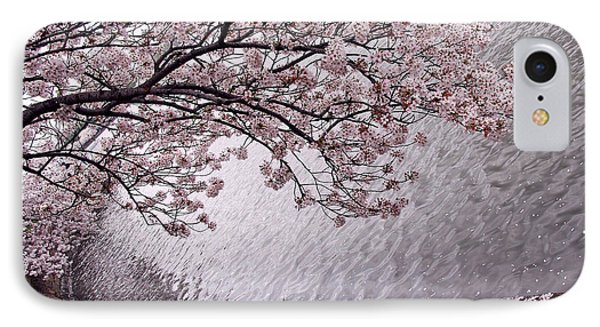 Cherry Blossoms IPhone Case by Cora Wandel