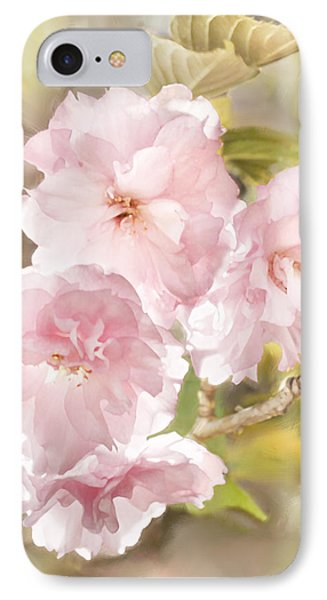 Cherry Blossoms IPhone Case by Francesa Miller