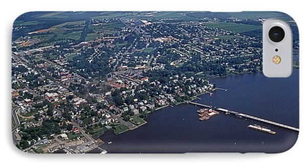Chestertown Maryland IPhone Case by Skip Willits