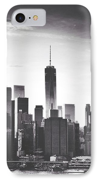 Chiaroscuro City IPhone Case by Natasha Marco