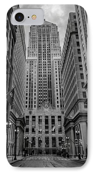 Chicago Board Of Trade Phone Case by Mike Burgquist