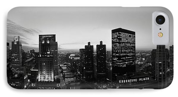 Chicago, Illinois, Usa IPhone Case by Panoramic Images