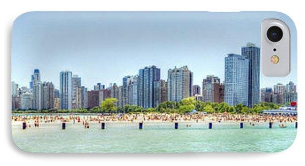 Chicago North Avenue Beach Phone Case by Patrick  Warneka