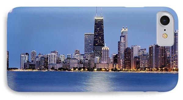Chicago Oak Street Beach IPhone Case by Donald Schwartz