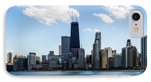 Chicago Panorama Skyline IPhone Case by Paul Velgos