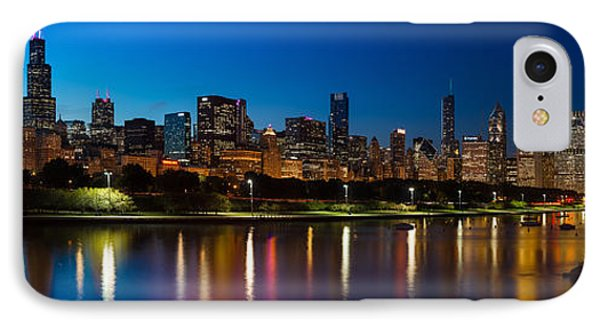Chicago Skyline Panorama IPhone Case by Steve Gadomski