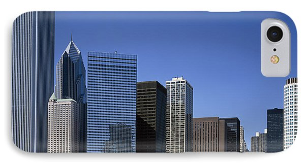 Chicago Skyline IPhone Case by Rafael Macia